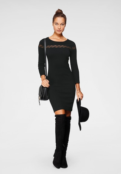 LAURA SCOTT Kleid in schwarz, Modelansicht