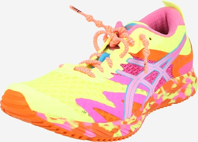 Scarpa da corsa 'GEL-NOOSA TRI 12' ASICS di colore giallo / arancione / rosa, Visualizzazione prodotti