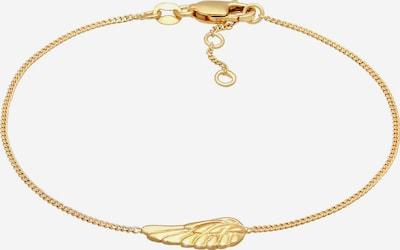 ELLI PREMIUM Armband Flügel in gold, Produktansicht