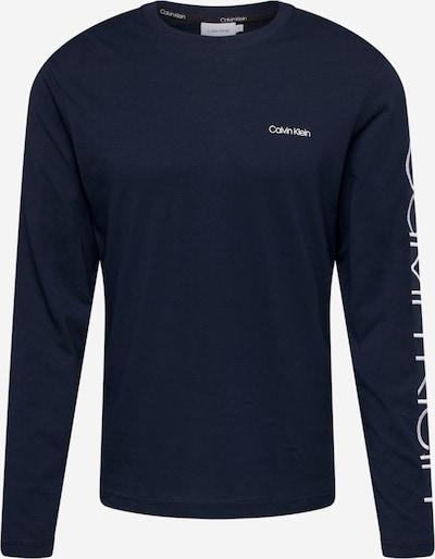 Calvin Klein Shirt in de kleur Donkerblauw / Wit, Productweergave