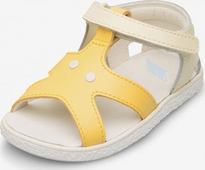 CAMPER Sandalen ' Twins ' in de kleur Beige / Geel, Productweergave