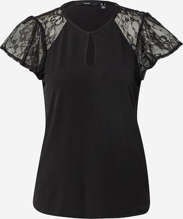 VERO MODA Shirt 'BRIANNA' in Black