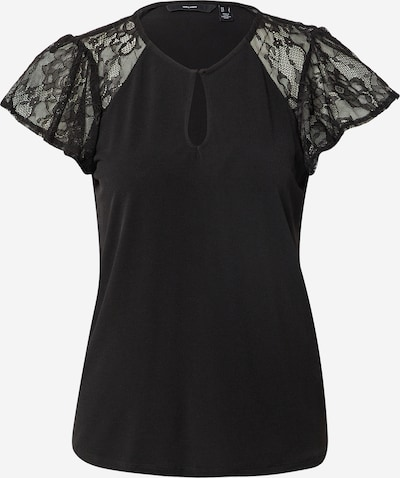 VERO MODA Shirt 'BRIANNA' in de kleur Zwart, Productweergave