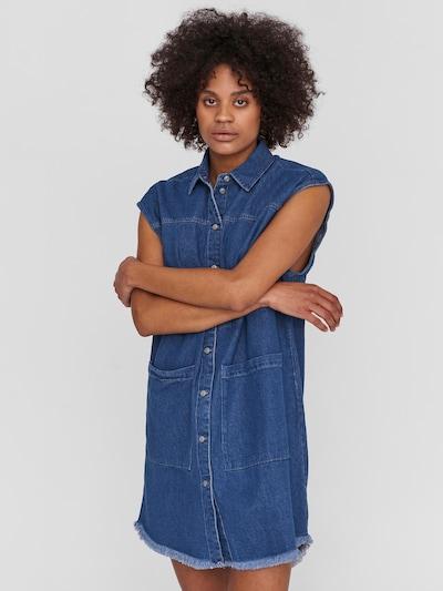 Noisy may Shirt Dress 'Alma' in Blue denim, View model