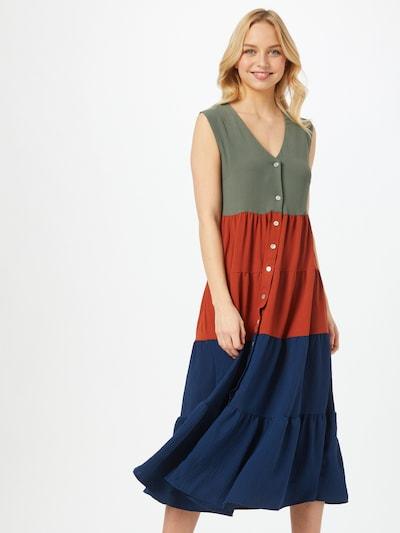 Abito camicia Trendyol di colore blu scuro / cachi / rosso ruggine, Visualizzazione modelli