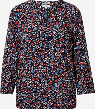 TOM TAILOR Bluse in beige / blau / nachtblau / rot, Produktansicht