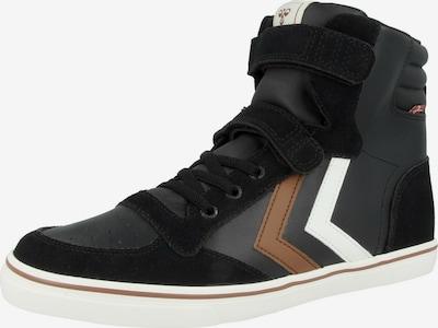 Hummel Sneaker in braun / anthrazit / schwarz / weiß, Produktansicht