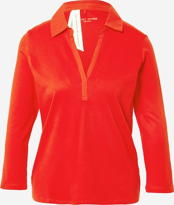 GERRY WEBER Shirt in Rood