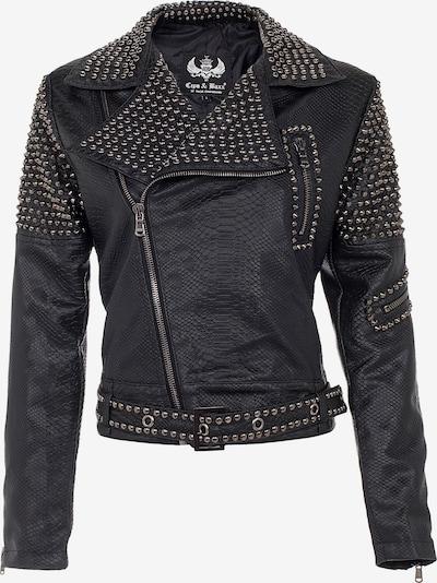 CIPO & BAXX Between-Season Jacket in Black: Frontal view