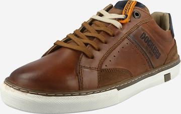 Dockers by Gerli Sneaker low i brun
