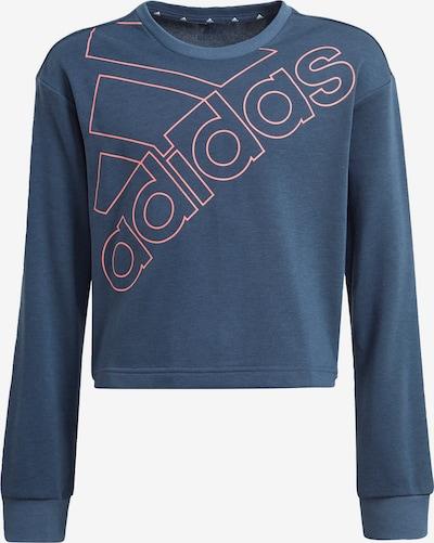 ADIDAS PERFORMANCE Sportsweatshirt in dunkelblau / pink, Produktansicht