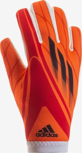 ADIDAS PERFORMANCE Sporthandschuhe 'X GL TRN' in orange / dunkelrot / schwarz, Produktansicht