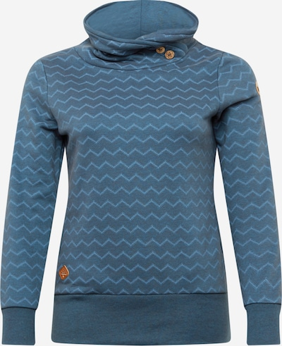 Ragwear Plus Sweatshirt in de kleur Navy / Smoky blue, Productweergave