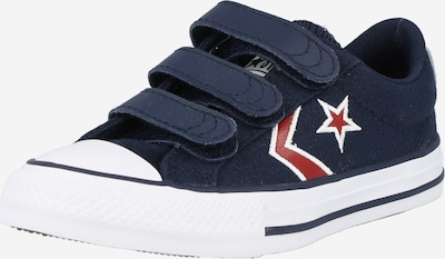 CONVERSE Sneaker 'STAR PLAYER' in navy / rot / weiß, Produktansicht
