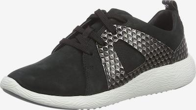 CLARKS Sneaker in schwarz / silber, Produktansicht