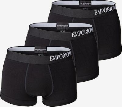 Emporio Armani Boxershorts in schwarz / weiß, Produktansicht
