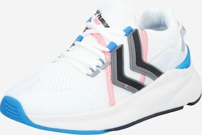 Hummel Sportschuh in hellblau / graumeliert / hellpink / schwarz / weiß, Produktansicht