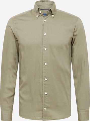 Camicia di ETON in verde