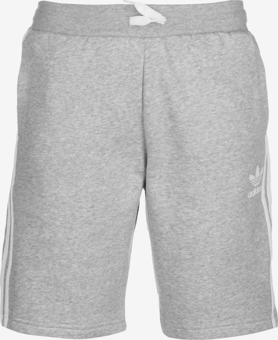 ADIDAS ORIGINALS Shorts in grau / weiß, Produktansicht