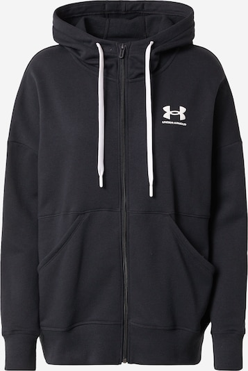 UNDER ARMOUR Sweatjacke in schwarz, Produktansicht