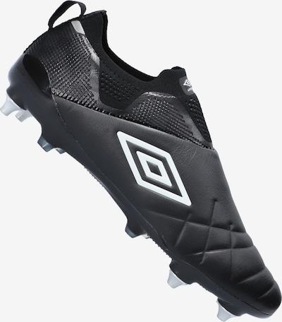 UMBRO Fußballschuh in schwarz / weiß, Produktansicht