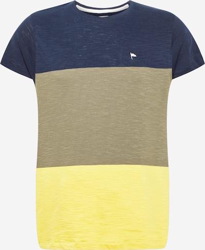 Tricou 'COPE' Wemoto pe albastru amestec / galben amestecat / verde amestecat, Vizualizare produs
