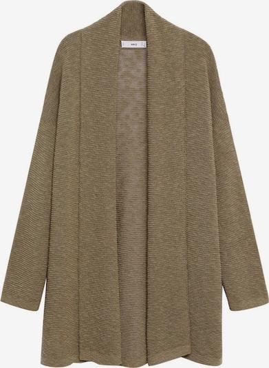 MANGO Strickjacke 'Linko' in khaki, Produktansicht