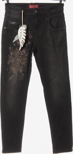 Ricarda M Slim Jeans in 27-28 in schwarz, Produktansicht