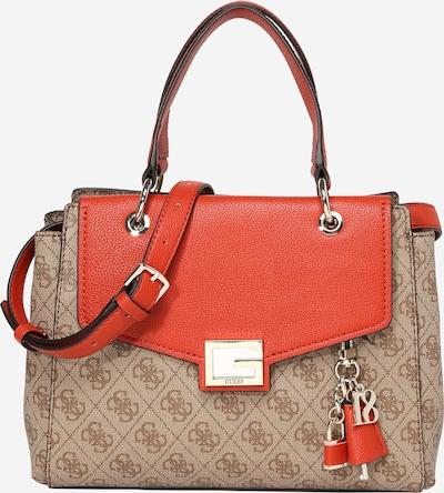 GUESS Ručna torbica 'VALY' u smeđa / kestenjasto smeđa, Pregled proizvoda