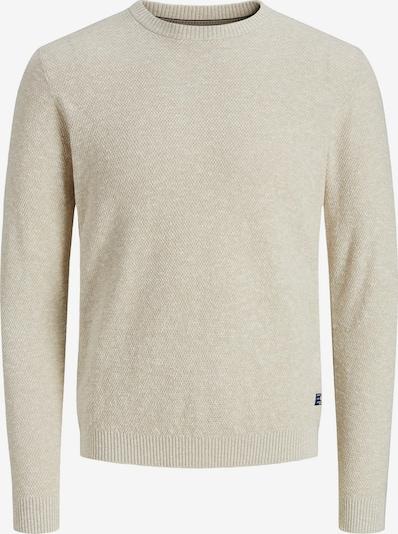 JACK & JONES Pullover in beige, Produktansicht