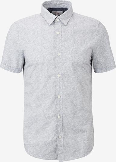 s.Oliver Hemd in grau / weiß, Produktansicht