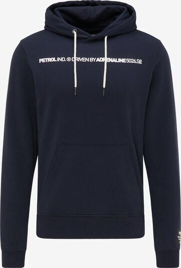 Petrol Industries Sweat-shirt en bleu, Vue avec produit