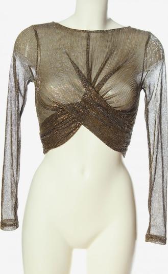 SheIn Cropped Shirt in XS in bronze, Produktansicht