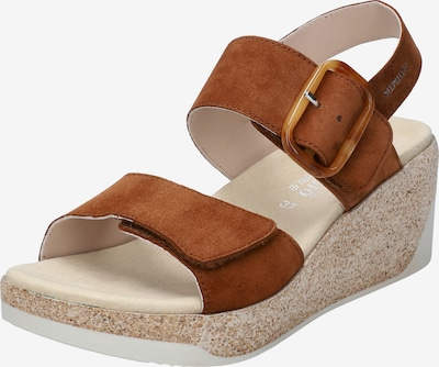 MEPHISTO Sandalen mit Absatz  'GIULIA' in braun, Produktansicht