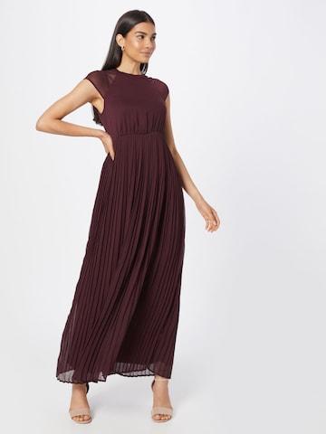 VILA Evening Dress 'Kalina' in Red