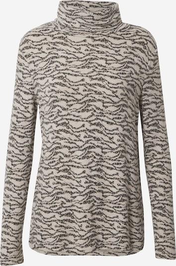 Soyaconcept Shirt 'Biara' in de kleur Beige gemêleerd / Grijs, Productweergave