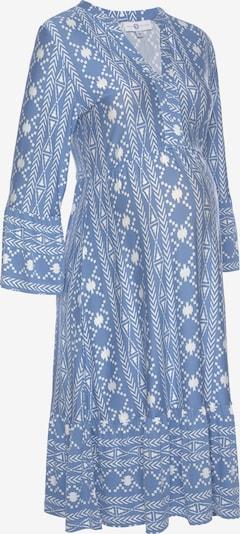 Neun Monate Kleid in blau / weiß, Produktansicht