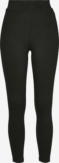 Urban Classics Pantalon en citron vert / noir, Vue avec produit