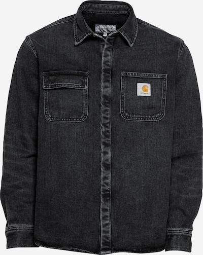 Carhartt WIP Jacke 'Salinac' in black denim, Produktansicht