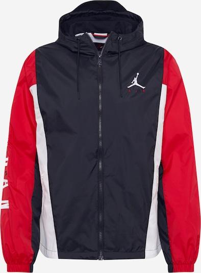 Jordan Sportjacke in feuerrot / schwarz / weiß, Produktansicht