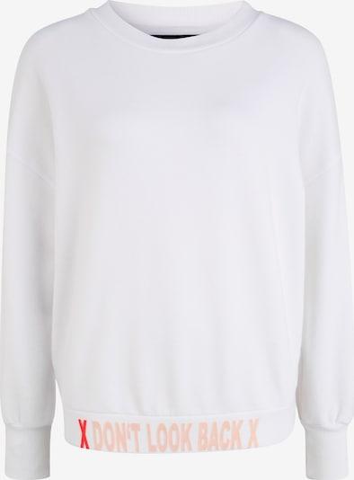 PAUL X CLAIRE Sweatshirt DON'T LOOK BACK in weiß, Produktansicht
