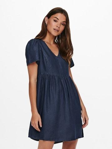 ONLY Kleid 'Vera' in Blau