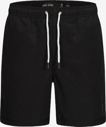 Shorts de bain INDICODE JEANS en noir
