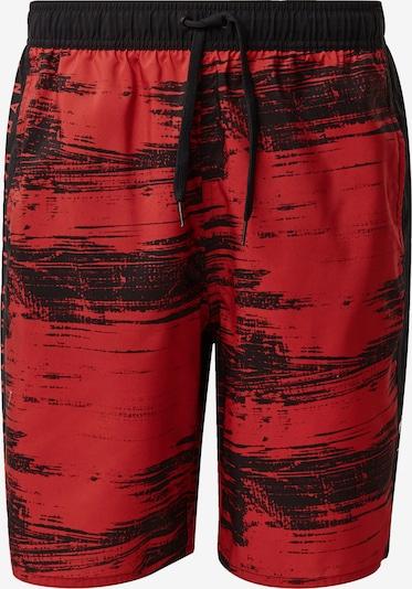 ADIDAS PERFORMANCE Badeshorts in rot / schwarz, Produktansicht