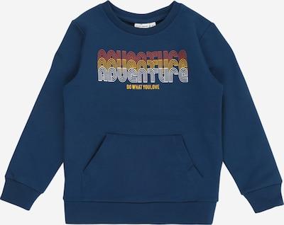 NAME IT Sweatshirt 'NMMVUGO' in blau / orange / rot / weiß, Produktansicht
