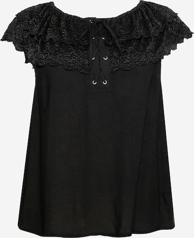 SHEEGO Bluse in schwarz, Produktansicht
