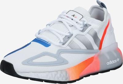 ADIDAS ORIGINALS Sneaker in blau / grau / orangerot / weiß, Produktansicht