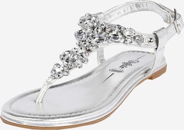 BUFFALO Sandale 'Rhonda' in Silber