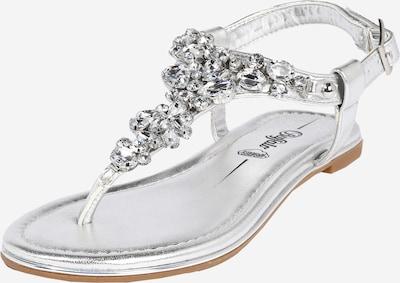 BUFFALO Sandály 'Rhonda' - stříbrná, Produkt