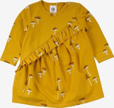 Müsli by GREEN COTTON Kleid in ocker / goldgelb / hellgelb, Produktansicht